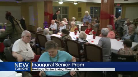 West Allis senior living community hosts prom for residents
